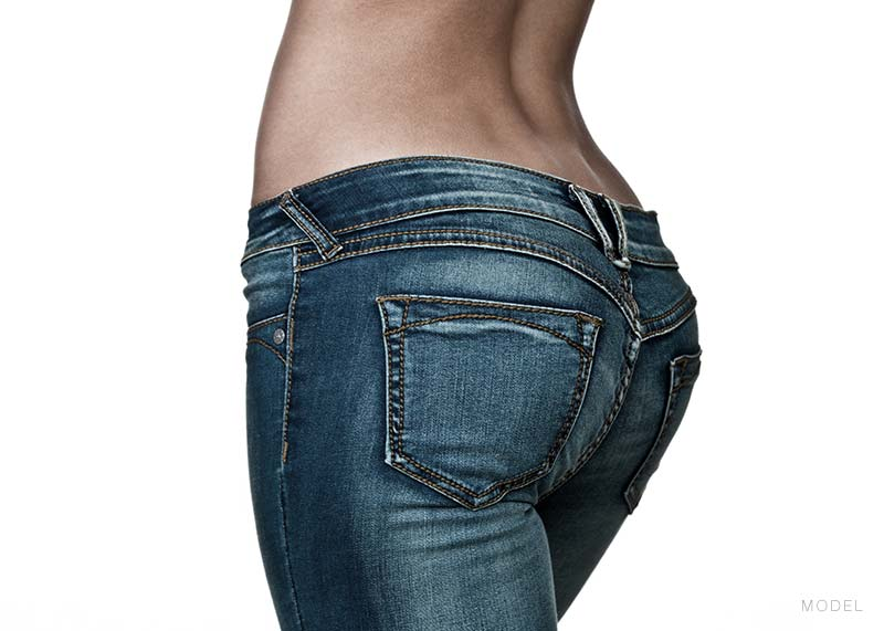 Model: Woman's buttocks