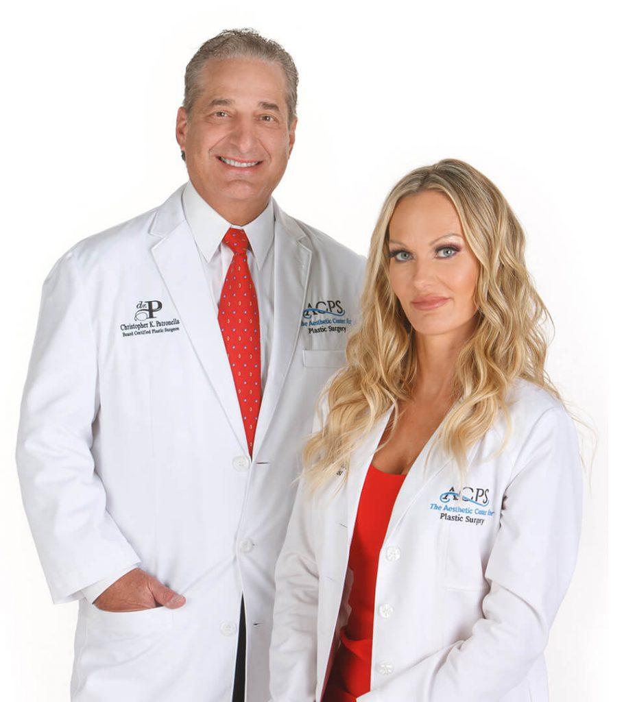 Heidi and Dr. Patronella.